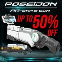 AR Gun Pneumatic Gun Kids Toys Gun Airsoft Weapons Bluetooth Cell Phone Stand Holder Multiplayer Battle Remote Sensing Game