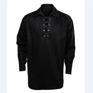Image 3 - Takerlamaสก๊อตผู้ชายJacobite Ghillie Kiltเสื้อลำลองLuxury AllปลอดภัยJacobite Ghillieเสื้อ3สี