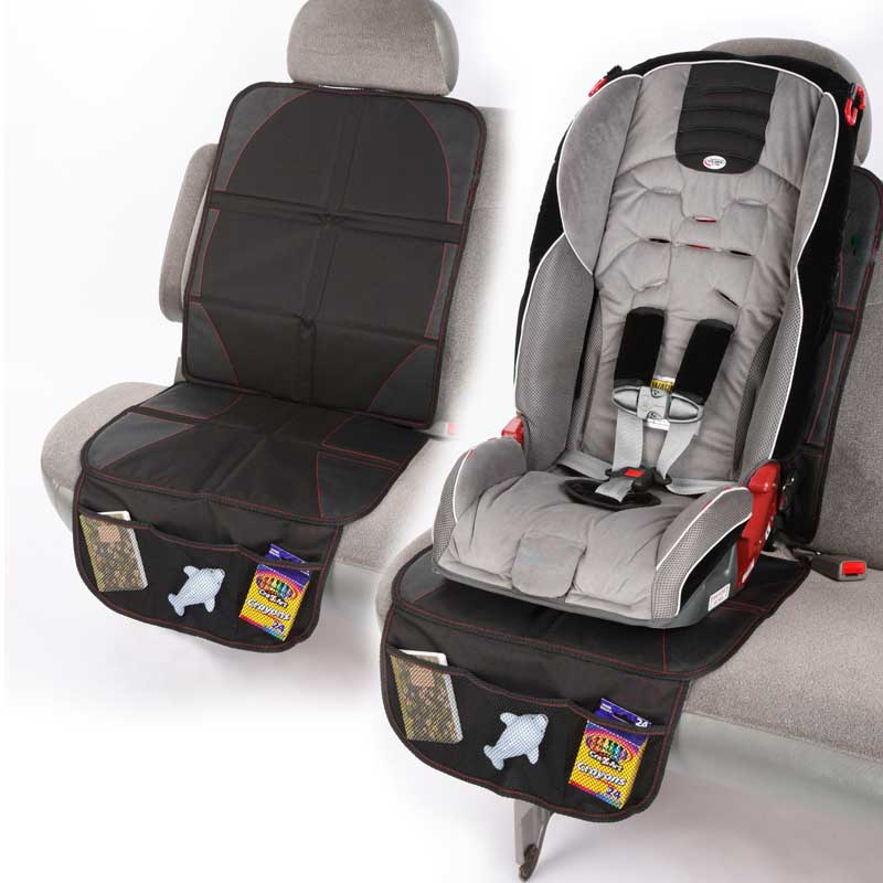 Hot Universal Car Seat Protector Mat Car Seat Cover Easy Clean Seats Protector Safety Anti Slip Mats JLD