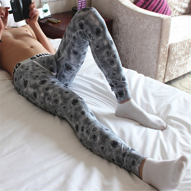 High qulity Winter Warm Male Thermo Underwear Long Johns Underpants Mens Long Johns Printed Thermal Underwear SNMGQK