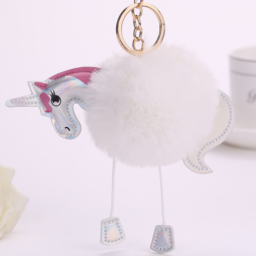 Kawaii Fresh Horse Plush Stuffed Animal Cartoon Kids Toys for Girls Children Baby Birthday Christmas Gift Unicorn Pendant Dolls 25cm kawaii plush stuffed animal cartoon kids toys for girls children baby birthday christmas gift alpaca doll