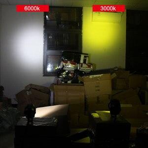 Image 5 - 2X 12000Lm לבן/צהוב אופנוע LED פנס עמיד למים נהיגה ספוט ראש מנורת ערפל אור מנוע אביזרי 6000K/3000K 12V