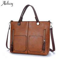 Aelicy Crossbody Bags For Women Handbags Women Famous Brands PU Leather High Quality Messenger Bag Women