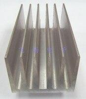Fast Free Shipping 2pcs Lot Fan High Quality Aluminum Heatsink 234 53 4 40MM Radiator