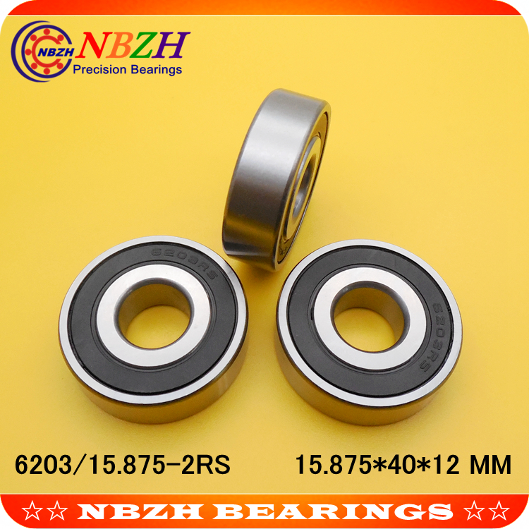 "6203-2RS-3//4/"" 6203-2RS-12 30 PCS DOUBLE SEALED PRECISION BEARING SHIPS FROM USA"