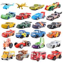 Cars 2 Disney Pixar Cars 3 39 Styles Lightning McQueen  Storm Ramirez 1:55 Diecast Metal Alloy Model Toy Car Gift For Kids
