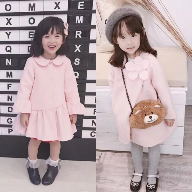 how to orders rational construction low cost US $45.91 8% OFF|Aliexpress.com : Buy Girls wool dresses coat solid pink  colour girls autumn winter clothes girls wool coat high quality princess ...