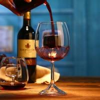 620ML/520ml Big Decanter Handmade Crystal Red Wine Brandy Champagne Glasses Decanter Bottle Jug Pourer Aerator For Family Bar