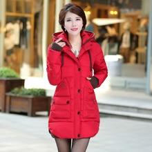 2016 Women Duck Down Jacket Fashion Slim Long Female Duck Down Coat Causal Ladies Winter Coat Down Parkas Outerwear wt0119