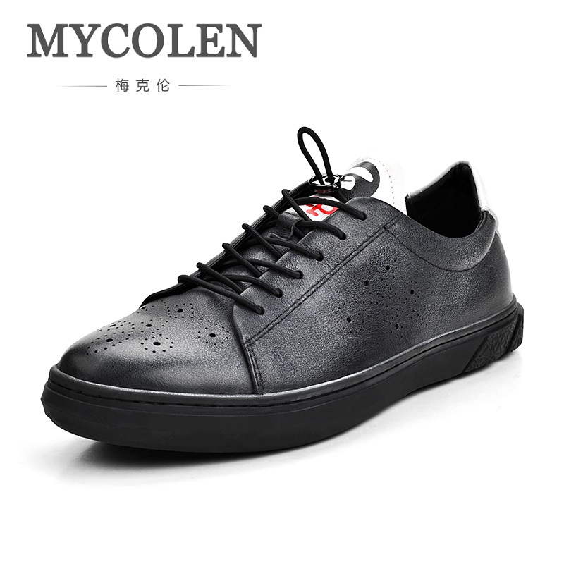 MYCOLEN 2018 Hot Sale Fashion Men's Casual Shoes Spring/Autumn Mens Flats Comfortable Man Shoes High Quality Fashion Shoes hot sale spring autumn handmade flats