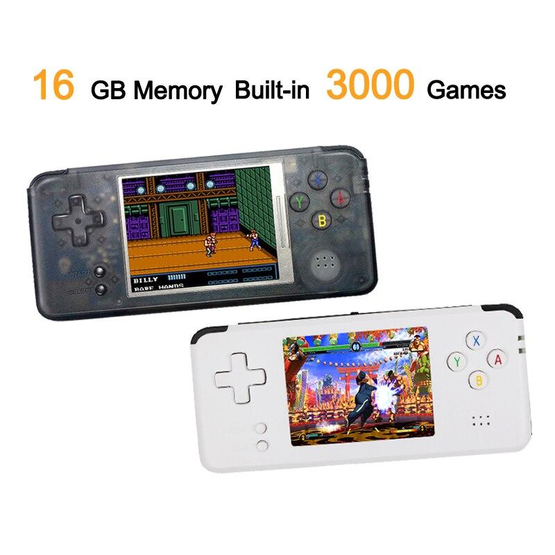 RS-97 Classique Rétro De Poche Jeu Lecteur Mini jeu vidéo Console 3.0 pouces Écran 16 GB Portable Intégré 3000 Jeux