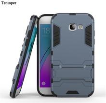 For Samsung Galaxy A5 2017 Samsung A3 2017 Case Hybrid Dual Heavy Duty Armor Stand Case Cover For Samsung Galaxy A520 A320 Capa