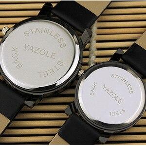 Image 3 - YAZOLEแบรนด์ที่มีชื่อเสียงนาฬิกาควอตซ์คริสตัลLovers นาฬิกาผู้ชายผู้หญิงนาฬิกาแฟชั่นโรแมนติกนาฬิกาRelogio Feminino