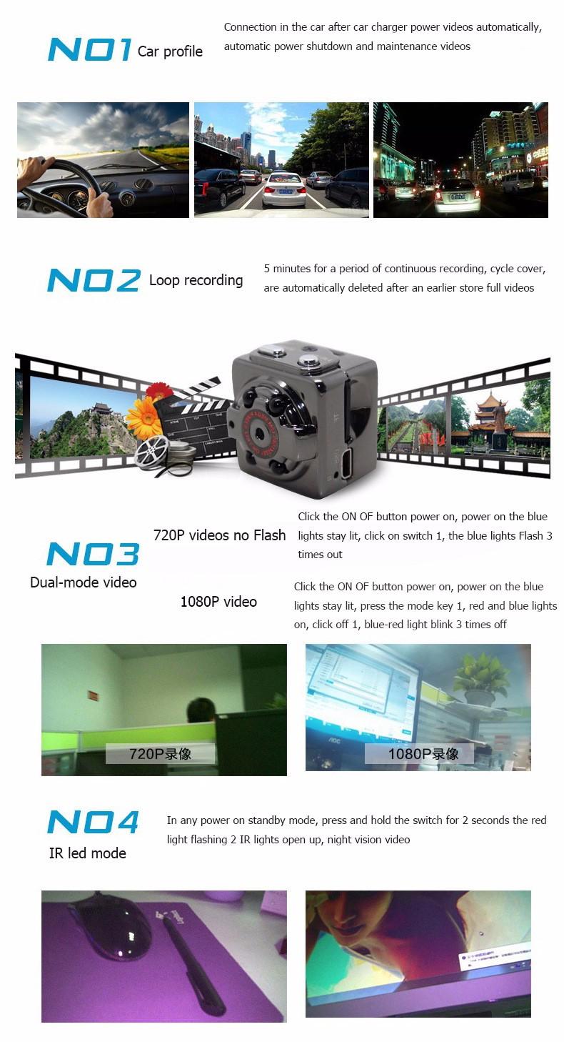 Sport Action Mini Camera HD 1080P 720P SQ8 Camera Recorder Kamera DV Video Recorder Infrared Night Vision Digital Usb Cameras  (11)