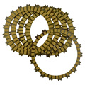 5 PCS Motorcycle Clutch Friction Plates Kit  Set For Honda CRF250L 2013-2014 CBR250R MC41 2011-2013 Paper-based Clutch Disc