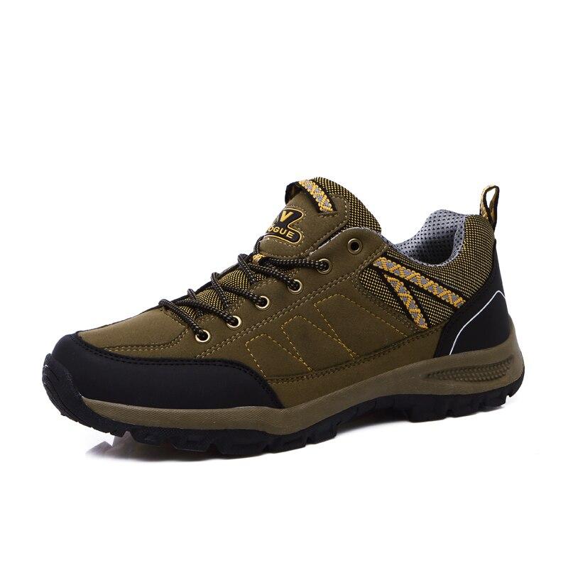 ФОТО 2016 Mens Track Shoes Anti-Slip Men Climbing Shoes Wearable Mens Sport Shoes Walking Sneakers Autumn/Winter Walking Boots Men