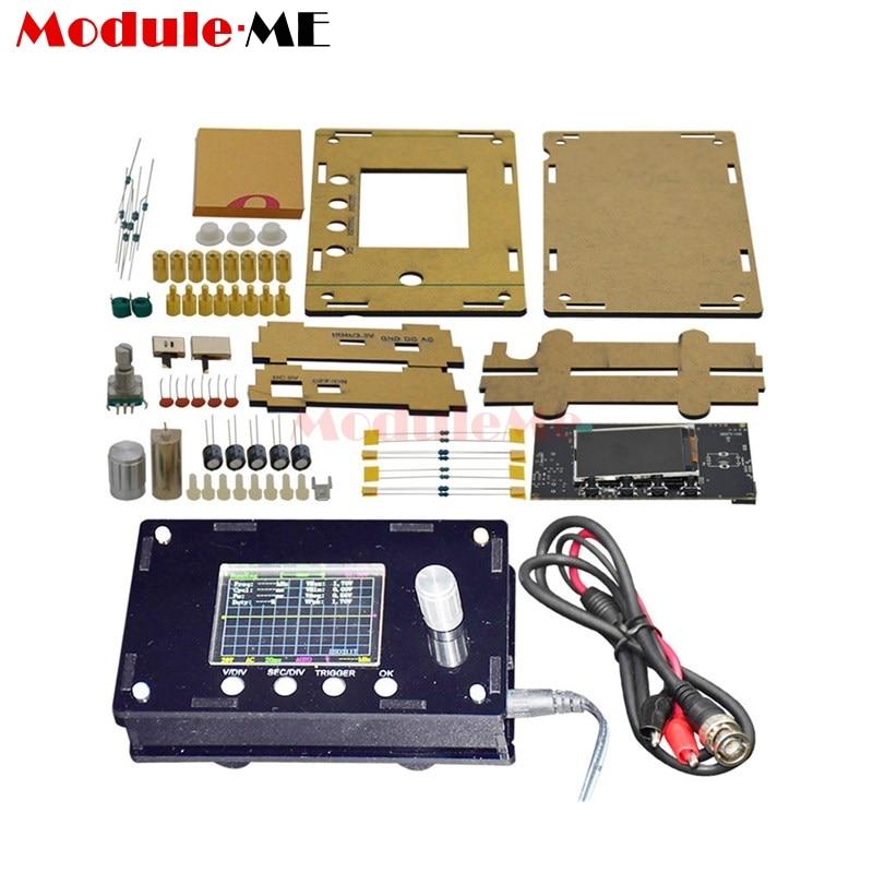 DSO328 Mini Digital Oscilloscope Tester 1MSPS 2.4 inch TFT LCD Atmega328p STM32 12-Bit Probe BNC Beyond DSO138 DSO311 DIY KitDSO328 Mini Digital Oscilloscope Tester 1MSPS 2.4 inch TFT LCD Atmega328p STM32 12-Bit Probe BNC Beyond DSO138 DSO311 DIY Kit