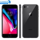 Original Unlocked Apple iPhone 8 Smartphone 4.7 inch 64GB /256GB ROM 2GB RAM Hexa Core 12MP iOS LTE Fingerprint Mobile Phone