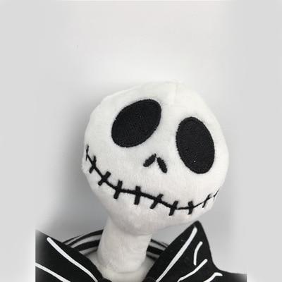 The Nightmare Before Christmas Jack Skellington Sally Black Skeleton Skull Plush Toy stuffed doll Halloween Gift in Movies TV from Toys Hobbies