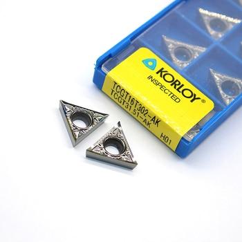 20pcs TCGT16T302 AK TCGT31.51 H01 Aluminum cutter  TCGT 16T302 TCGT31.51 H01 blade Insert Cutting Tool Internal Turning Tools