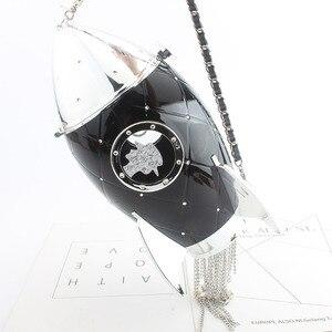 Модные сумки в форме ракетки, Женская акриловая сумка-клатч на плечо с цепочкой, сумка через плечо, кошелек для свадебной вечеринки