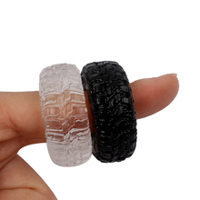 2 PCs Re-Washable Tire Style Soft Lubricant Penis Rings
