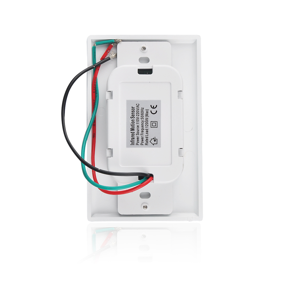 Sensky Motion Sensor Switch Occupancy Bs033c Wall Wiring 110v Neutral Wire Required White