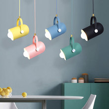 цена на Nodic simple modern chandelier living room gallery lights clothing store stair pendant lamp restaurant dining room droplight