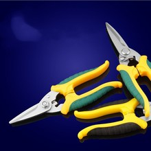 Multi-function Electrician, Electronic Scissors Industry With Groove Cutting Wire  Iron Shears Pruning