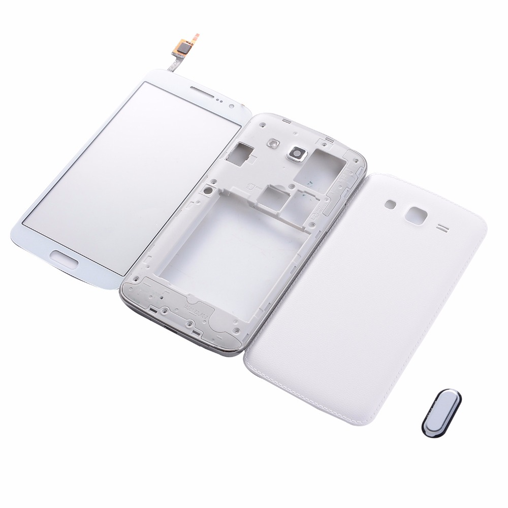 For Samsung Galaxy J1 Ace J110 J110f J110h Housing Middle Frame Lcd Touchscreen J100 J100h White Oem G7102 G7106 Battery Back Cover Touch Screen Digitizer Home