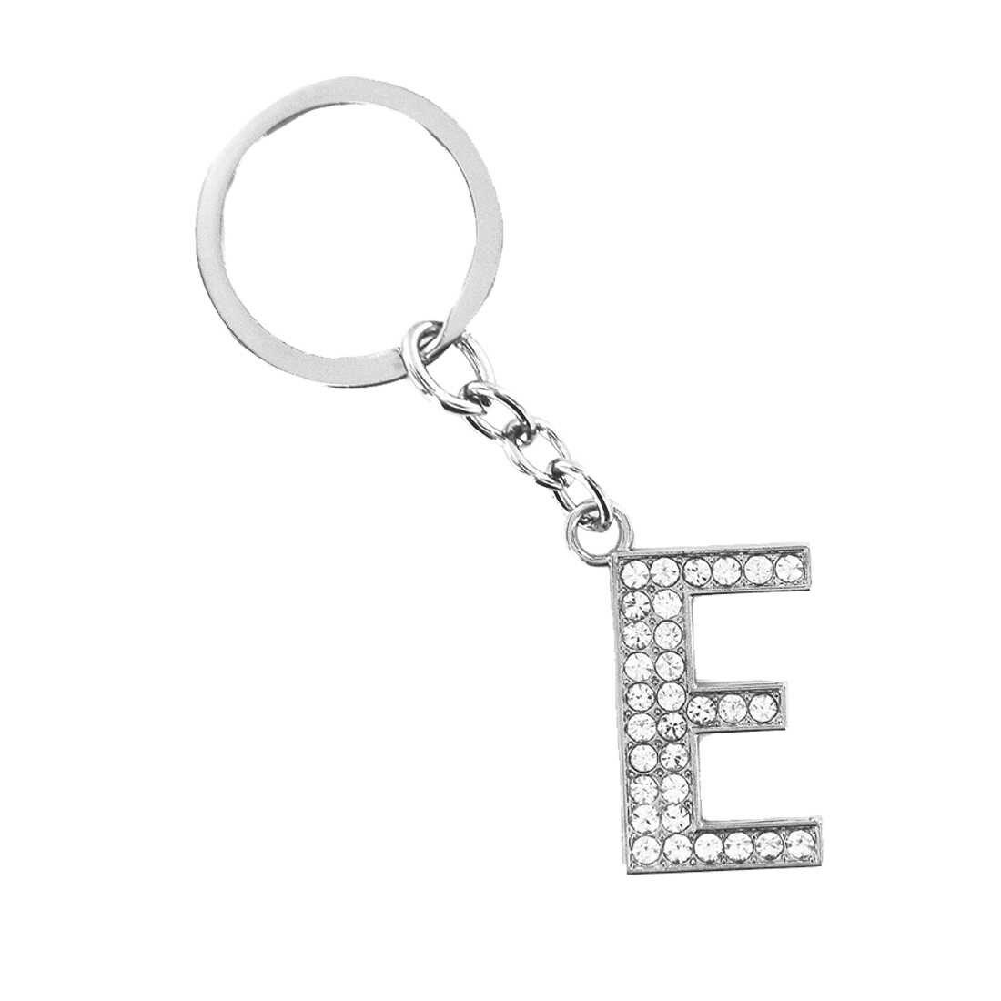 2019 Новый женский Английский алфавит брелок простая индивидуальность креативный 17 брелок с буквой автомобильный рюкзак сплав брелок Горячая