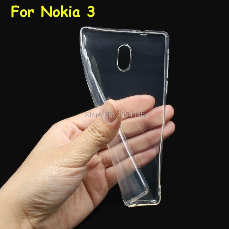 Тонкий Crystal Clear Прозрачный Мягкие ТПУ Камера Защитите Обложка чехол Защита кожи для Android телефон nokia 3 2017 5.0 дюймов