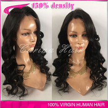7A Full Lace Human Hair Wigs For Black Women Brazilian Hair Wigs Body Loose Wave Lace Front Human Hair Wigs Glueless  Wigs