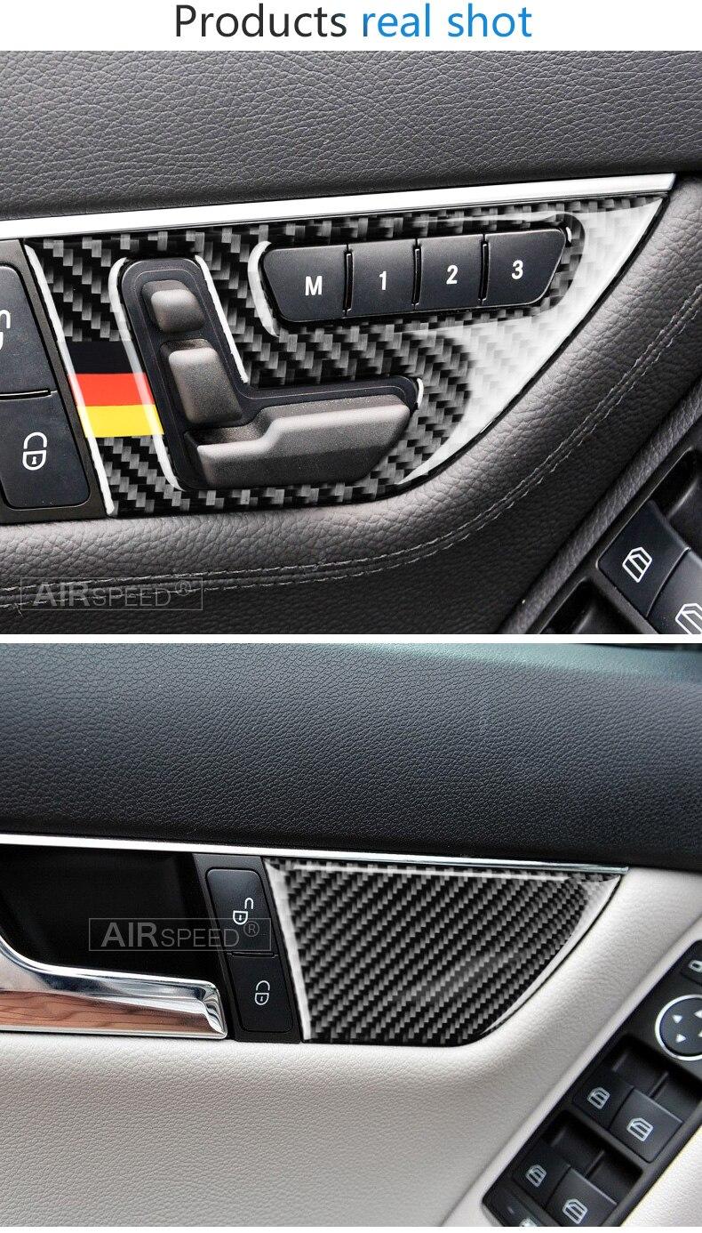 2010-2013 For Mercedes Benz C-Class W204 Seat Adjusting Door Lock Button Trim