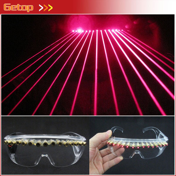 Hot Sale 12 pcs Red Lasers Glasses Party Glasses for Christmas Laser Show Props Stage Dance decoration glasses Party Supplies dance legend red show 05 цвет 05