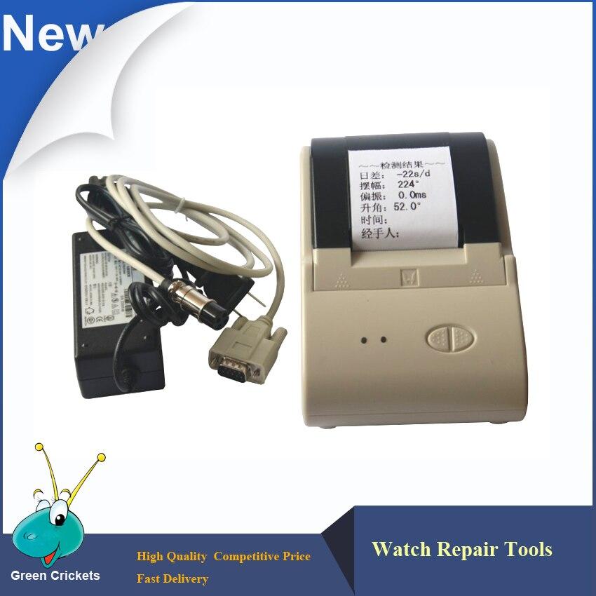 Timegrapher Printer for MGT-2000.MTG-3000,MTG-5000 Seris Watch Timing and Testing Timegrapher цена