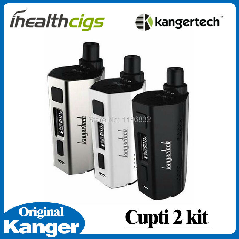 ФОТО 100% Kanger CUPTI 2 Kit All-in-One Starter Kit Cupti II Box Mod with 5.0ml Tank Atomizer