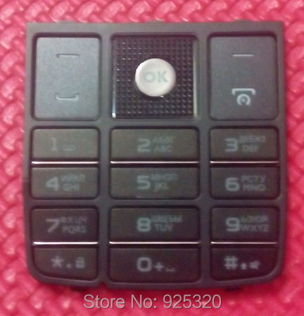 Free shipping Original Russian keypads for Philips X5500 Cellphone ker button for Xenium CTX5500 Mobile Phone