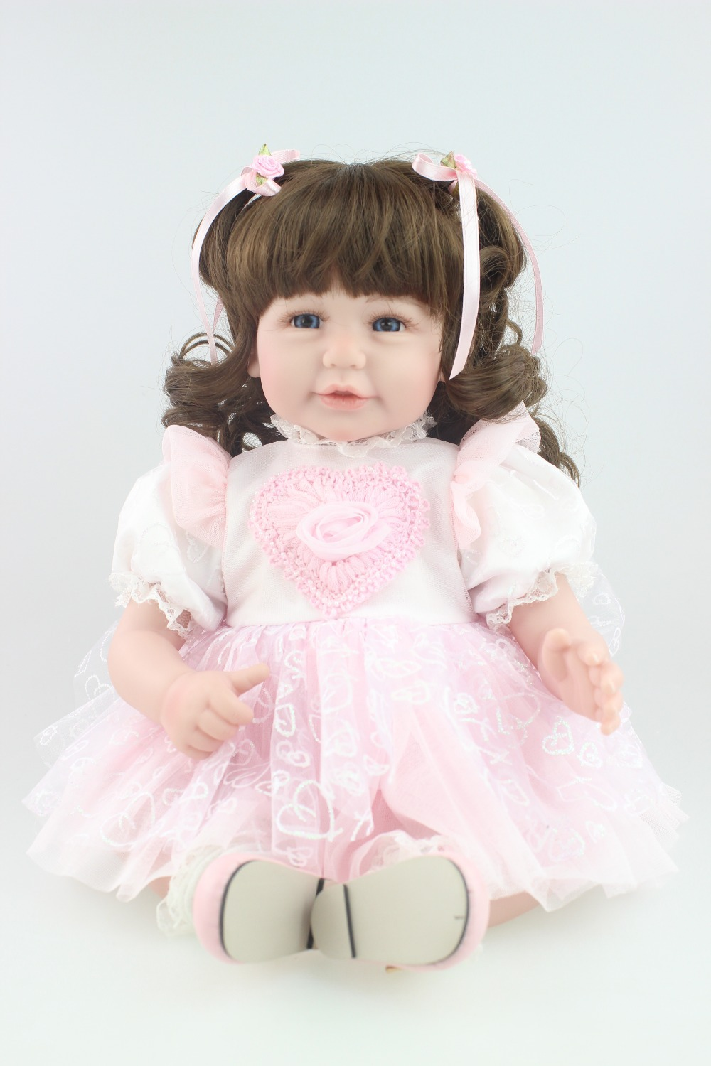 2016 NEW design Reborn toddler Adora girl doll sweet baby doll Birhtday Gift Toys for Girls Curls hair ...