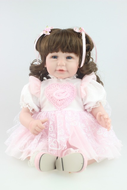 2016 new design reborn toddler adora girl doll sweet baby doll