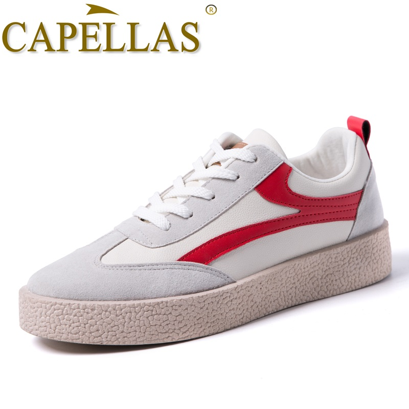 CAPELLAS Mænd Casual Shoes High Quality Microfiber Fashion Mænds - Mænds sko