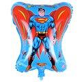 2 шт. 46 см * 68 см Супермен Бэтмен Алюминиевые Воздушные Шары Воздушные Шары Надувные Украшение Партии День Рождения Воздушные Шары На Открытом Воздухе Игрушки TD0018