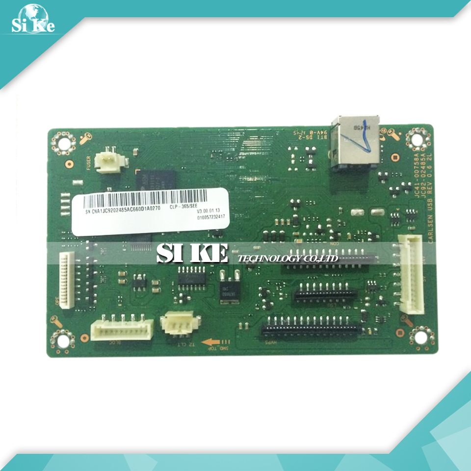 Laser Printer Main Board For Samsung CLP-365 CLP-366 CLP-360 CLP 365 366 360 CLP365 CLP366 Formatter Board Mainboard Logic Board alzenit for samsung clp 310 clp310 clp 310 original used formatter board laser printer parts on sale