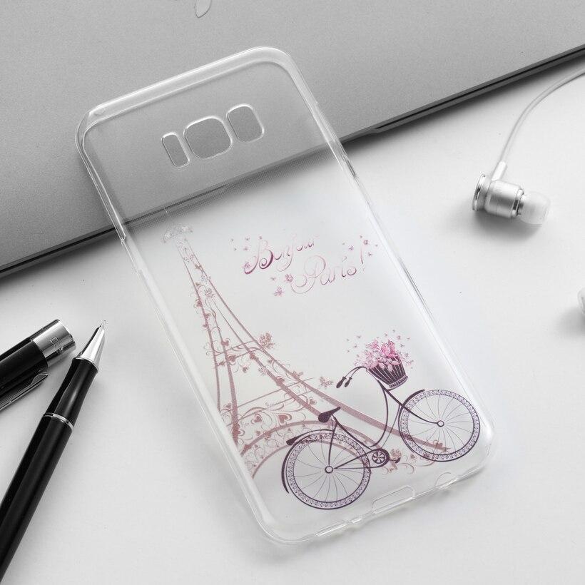(Не Для S8) mobile phone case for samsung galaxy s8 плюс s8 + sm-g955 6.2 дюймов задней обложки оболочки корпуса гуд fundas