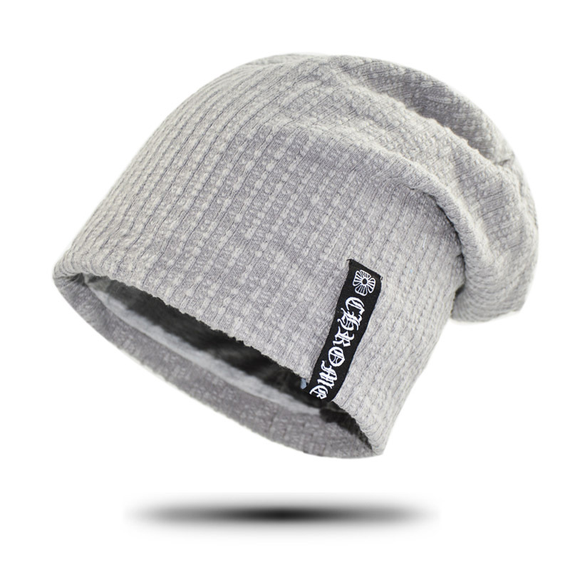 Cotton Beanies Autumn Gorros Winter Womens Beanie Hat Men Cotton Solid High  Cost Performance Casual Skullies With Letters-in Skullies   Beanies from  Apparel ... 9bd8dc52c5