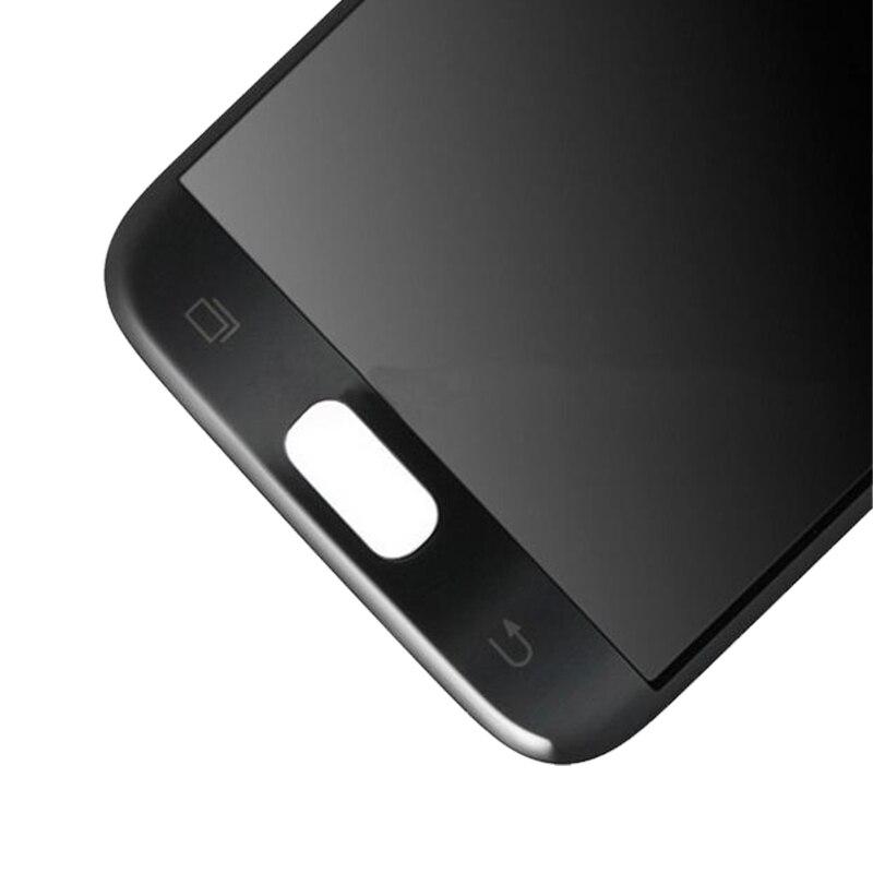 100% ORIGINAL 5.1 ''SUPER AMOLED LCD pour SAMSUNG Galaxy S7 LCD affichage G930 G930F écran tactile numériseur avec cadre - 6