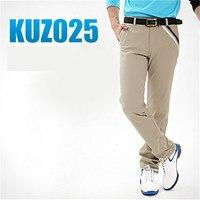 PGM Man S Golf Pants Outdoor Sport Trousers For Men Cotton Blen Quick Dry Waterproof Breathable