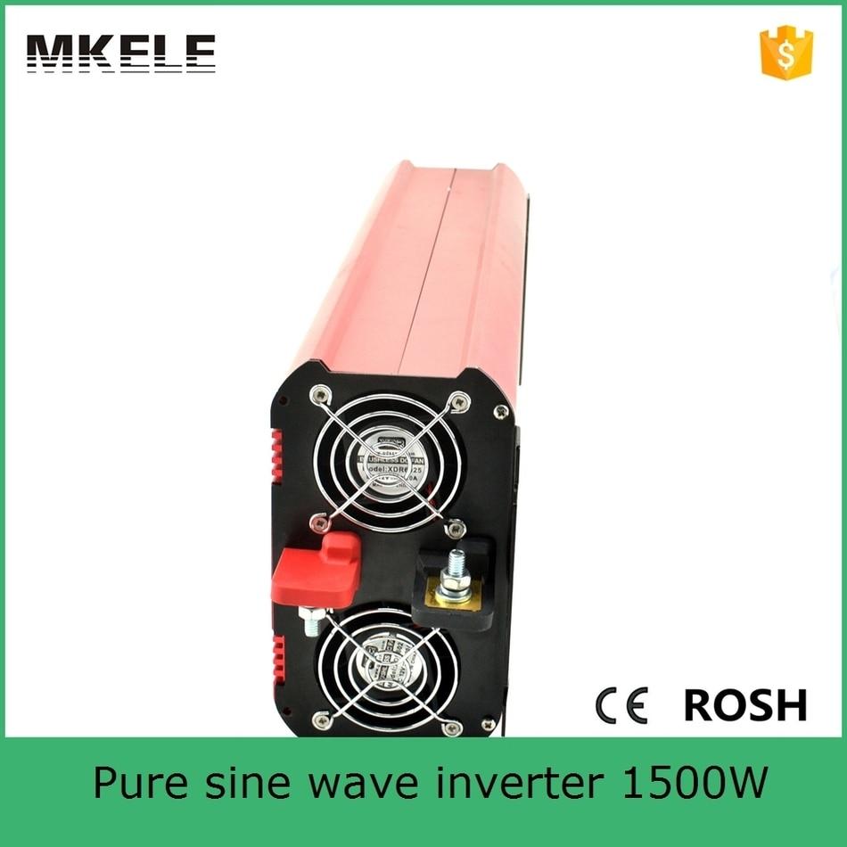 цена на MKP1500-122R high quality pure sine wave form dc ac power inverter dc 12v ac 220v 1500w inverter 12v 220v with low price