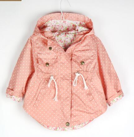 2016 new girls cotton wave point bat shirt jacket coat free shipping