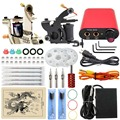 ITATOO Tattoo Kit Cheap Tattoo Machine Set Kit Tattooing Machine Gun Tattoo Supplies For Jewelry Weapon Professional TN1005-10C
